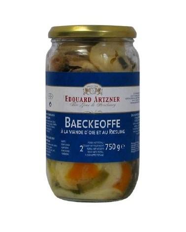 Baeckeoffe à la viande d'Oie et au Riesling 750g