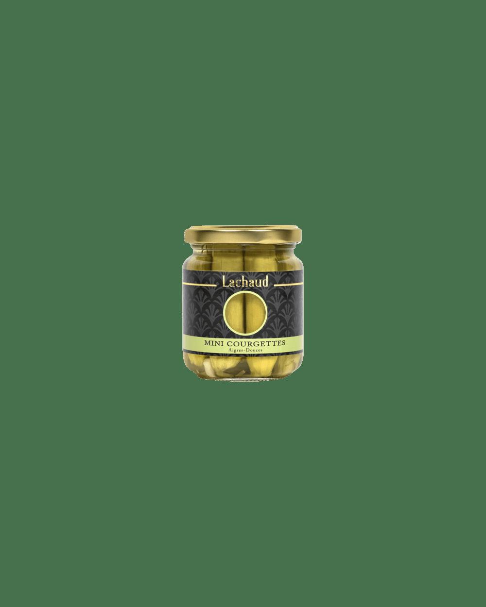 Mini Courgettes à l'Aigres-Doux 110g