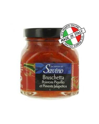 Bruschetta poivron Piquillo Jalapeno, 140g