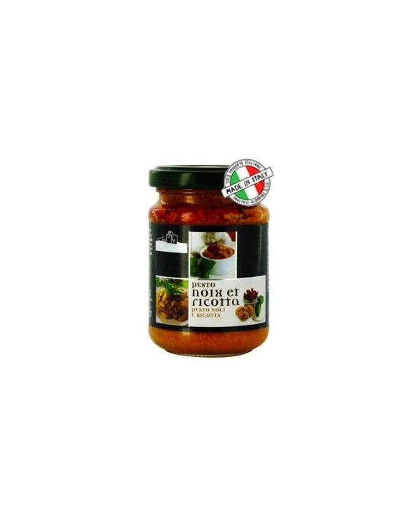 Pesto noix et ricotta,130g