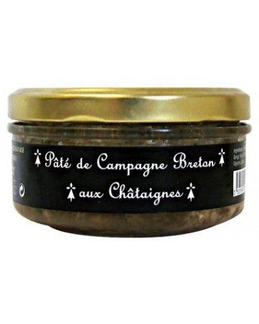 Pâté de campagne breton aux châtaignes 145g