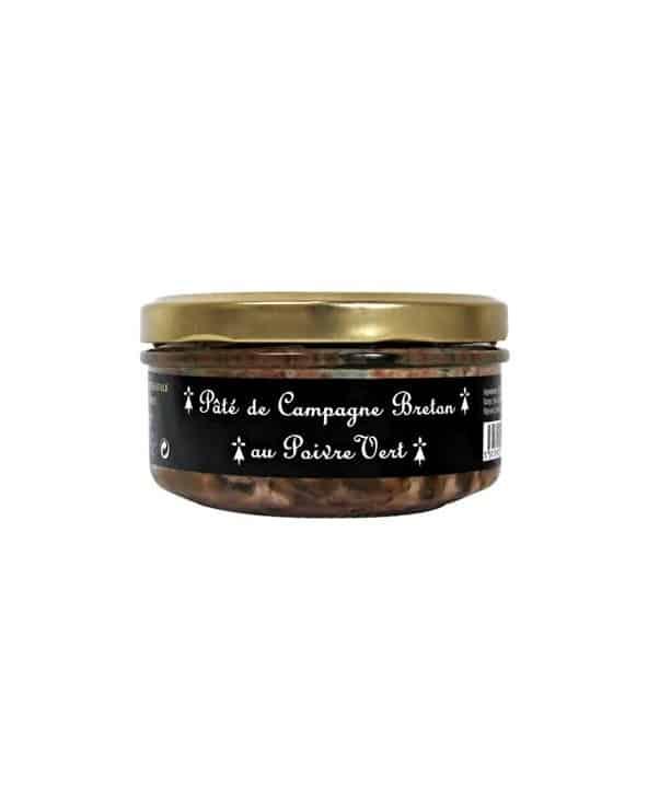 Paté de campagne breton au poivre vert 145g