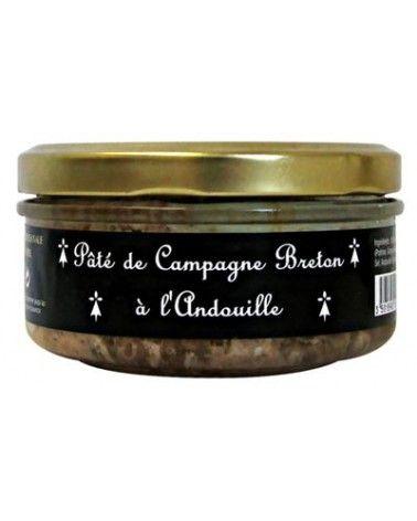 Pâté de campagne Breton à l'andouille 145g