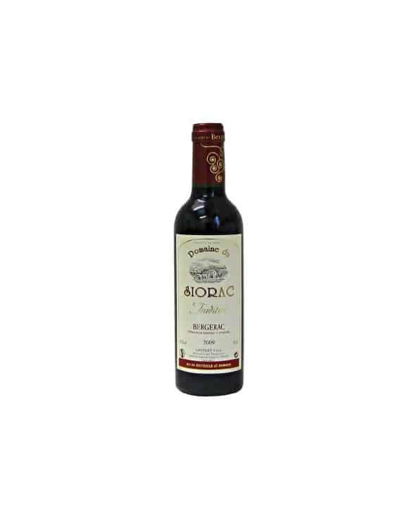 "Vin rouge Bergerac ""siorac"" 2009 37,5cl"
