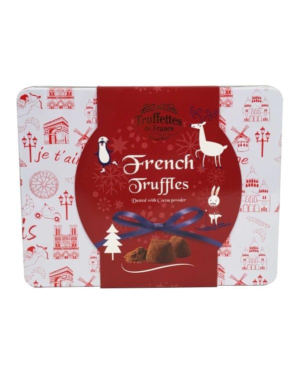 Boîte métal Truffes Fantaisie Noël 250g
