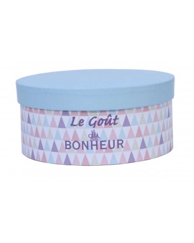 """Boîte à chapeau """"Le Goût du Bonheur"""""""
