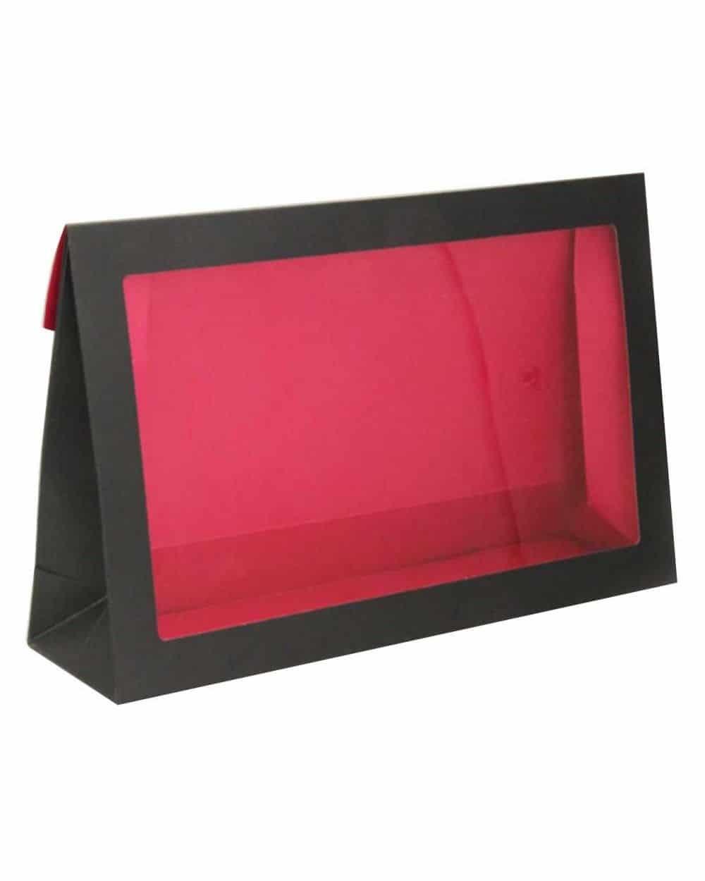 Pochette avec fenêtre