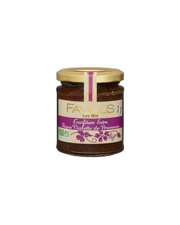 Confiture Figue Violette de Provence Bio, 220g