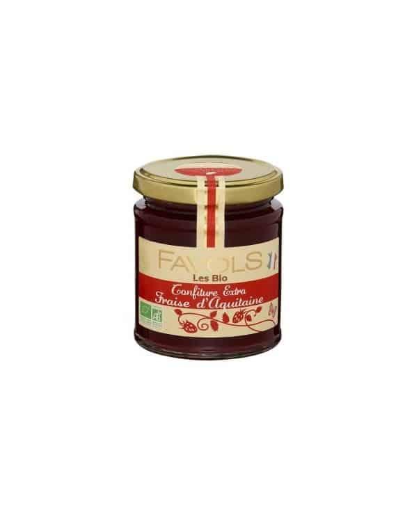 Confiture fraise Aquitaine Bio, 220g