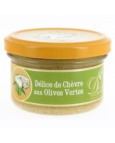 Délice de chèvre aux olives vertes, 90g