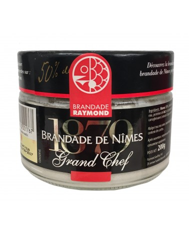 Brandade de morue grand chef 200g