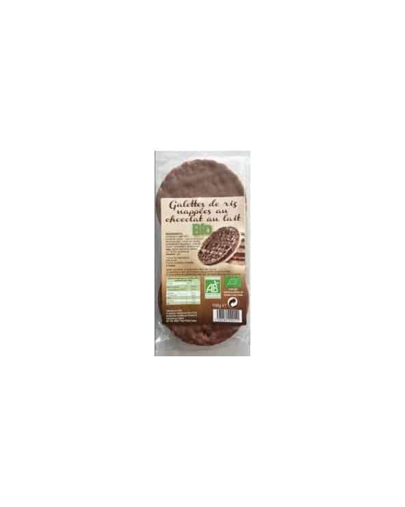 Galettes de riz chocolat au lait bio