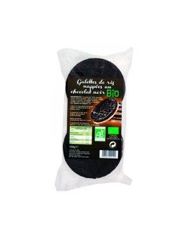 Galettes de riz chocolat noir bio 100g