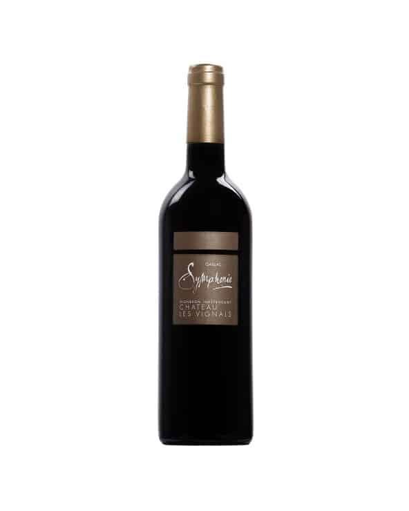 """Vin rouge """"Symphonie"""" 75cl"""