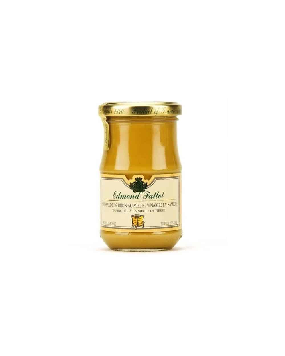 Moutarde de Dijon au miel et vinaigre balsamique 210g