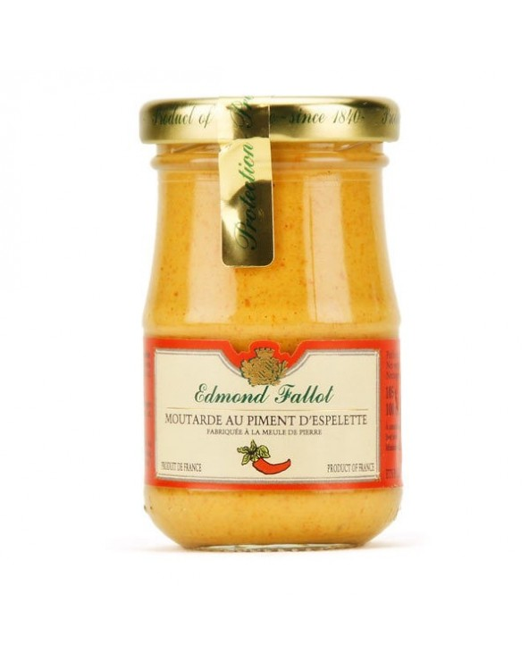 Moutarde au Piment D'Espelette 105g