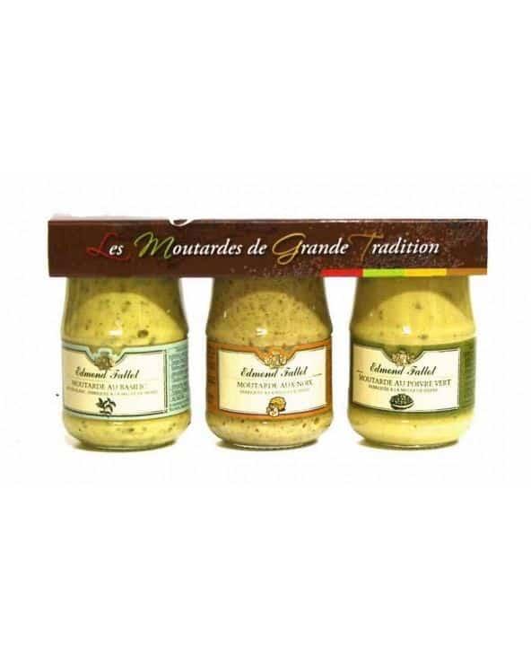 Moutardes aromatisés Fallot *3