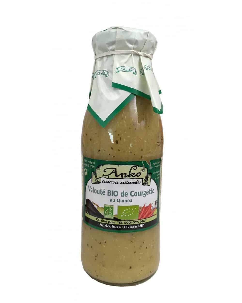 Velouté de courgette au quinoa 500ml