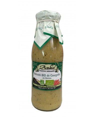 Velouté de courgette au quinoa bio 500ml