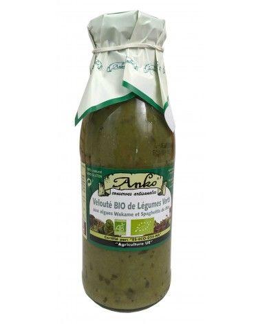 Velouté de légumes verts aux algues 500ml