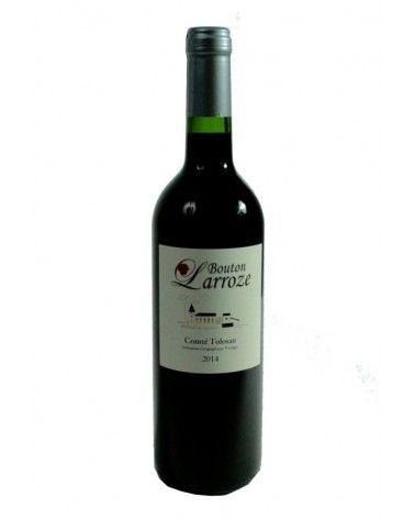 """Vin rouge """"Bouton Larroze"""" 75cl"""
