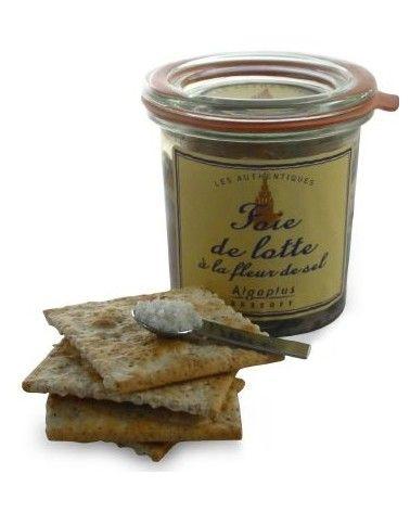 Foie de lotte à l'huile d'olive 80g
