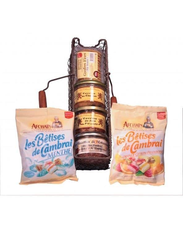 """Panier Gourmand """"Saveurs du Nord"""""""