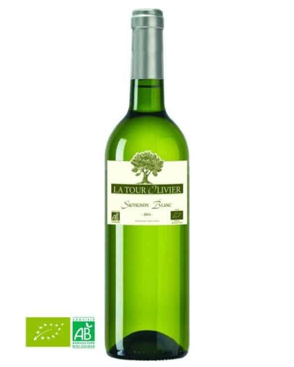 Vin blanc sec Côtes du Tarn 75cl Bio La tour Olivier