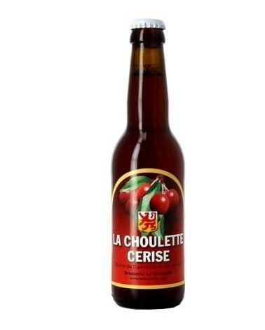 Bière Blonde La Choulette Cerise 33cl