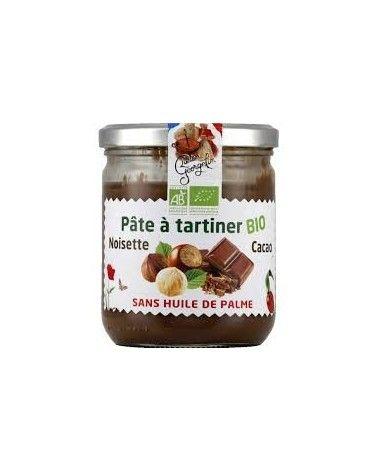 Pâte à tartiner noisette cacao Bio 150g
