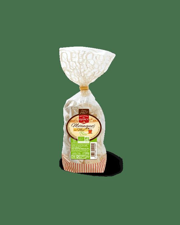 Meringues au miel Bio 100g