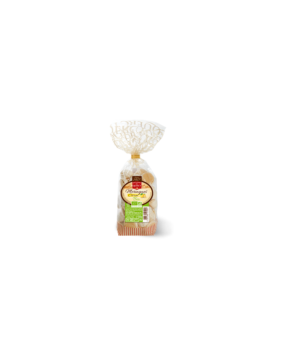 Meringues au citron Bio 100g