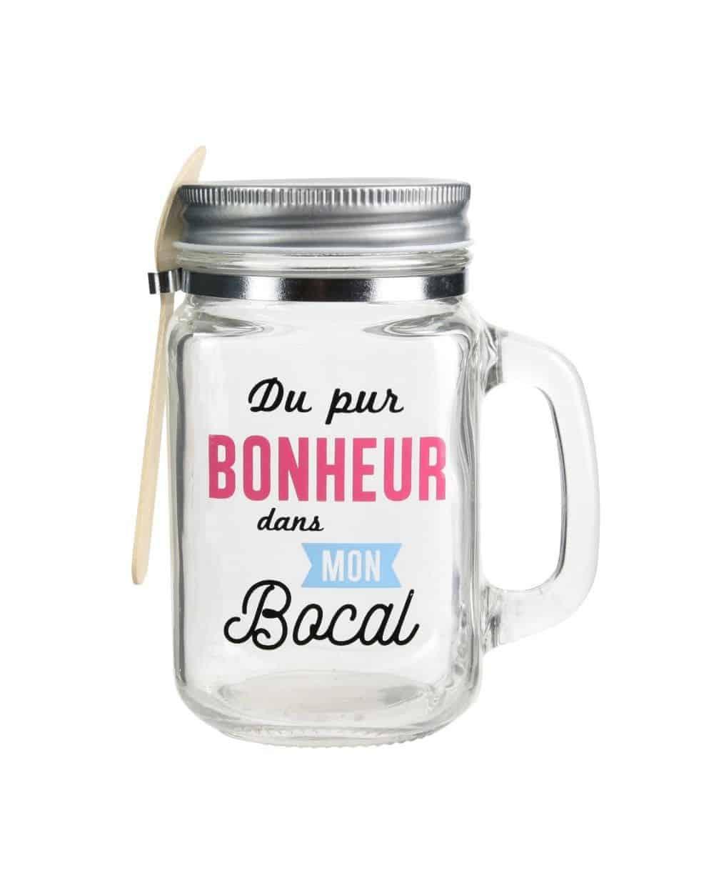 Mason Jar Confiture Bonheur