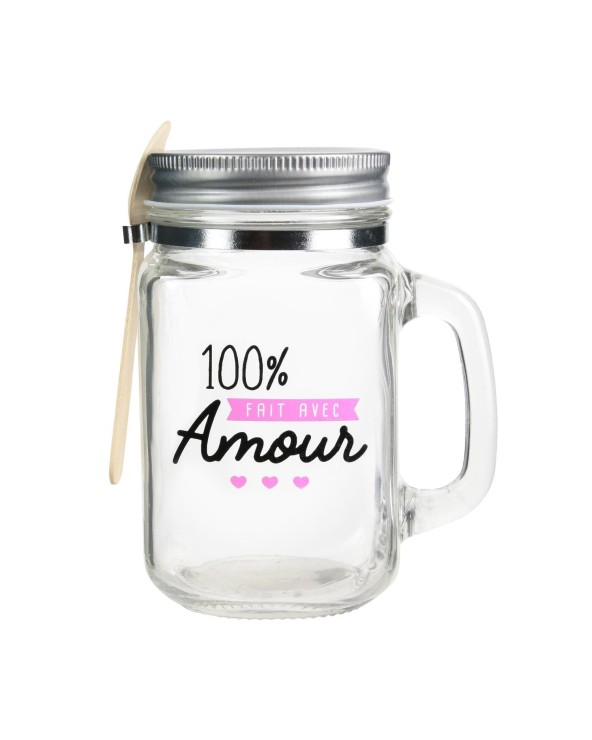 Mason Jar Confiture Amour
