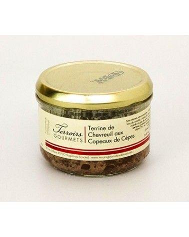 Terrine de chevreuil aux cèpes