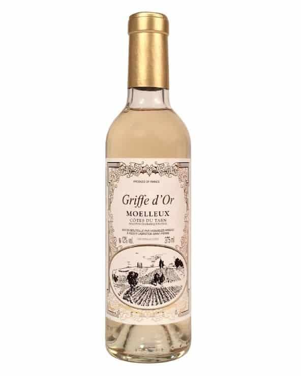 Vin blanc moelleux calèche de Vilaudric 37,5cl