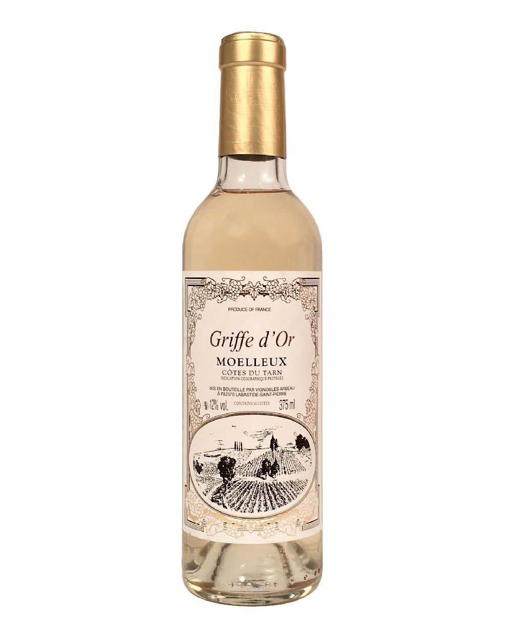 En commun Vin blanc moelleux Griffe d'or Côtes du Tarn - Halte Gourmande @YR_83