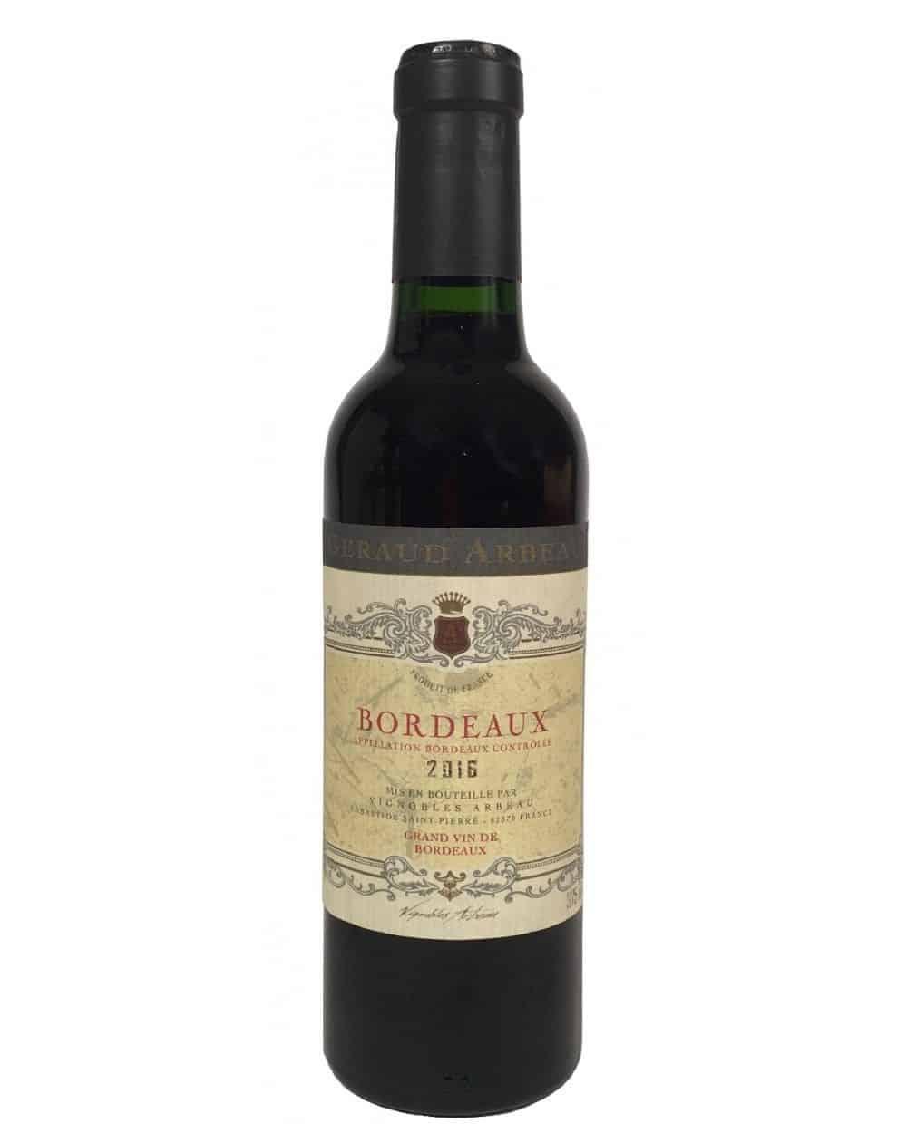 Bordeaux rouge AOP 37,5cl