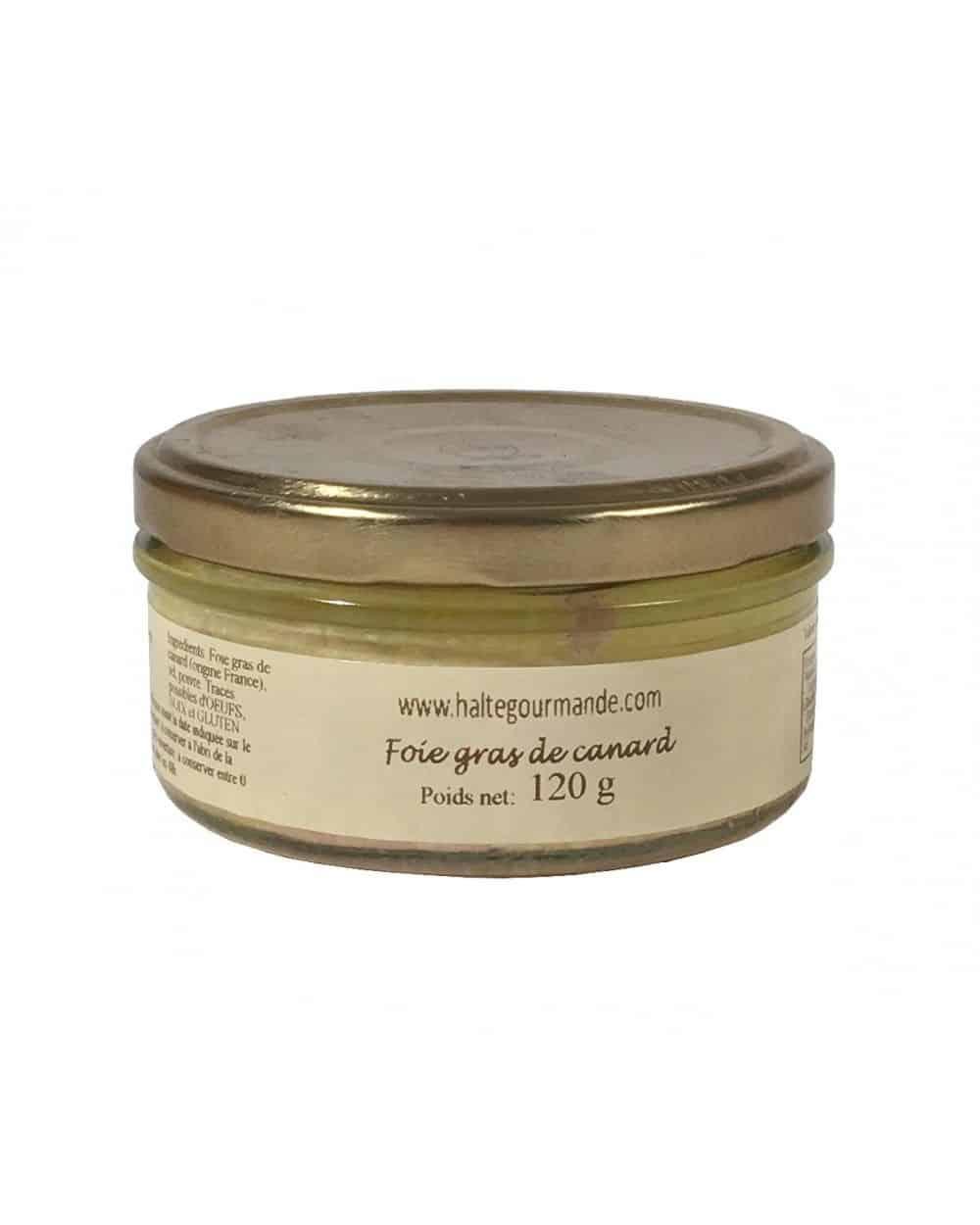 Foie gras de canard en verrine 120g