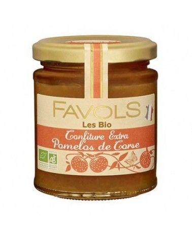Confiture Pomelos de Corse Bio 220g