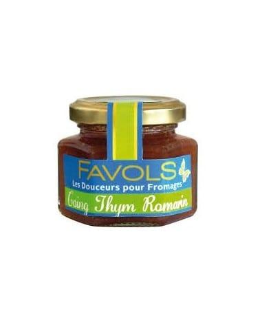 Confit pour fromages au coing thym et romarin 110g