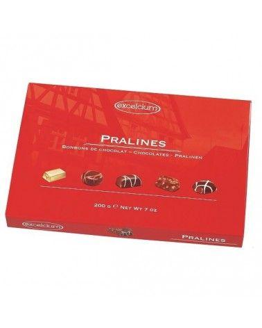 Assortiment de chocolats pralinés Excelcium 180g