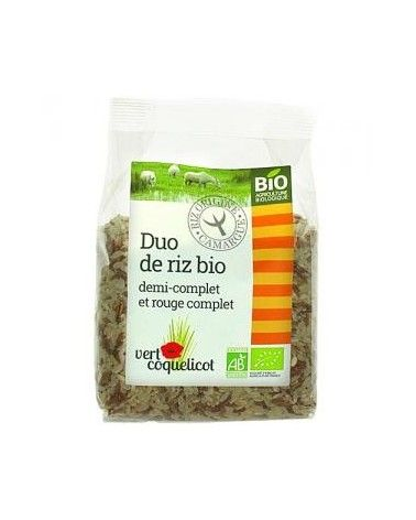 Duo de riz de Camargue Bio 500g