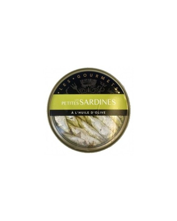 Petites Sardines à l'Huile d'Olive 120g