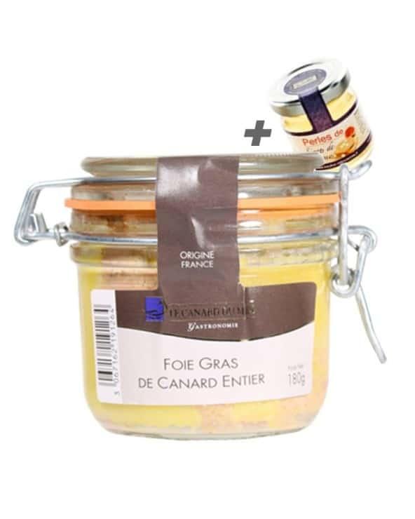Foie Gras de Canard Entier du Sud Ouest CDM + Perles de Sirop Offertes