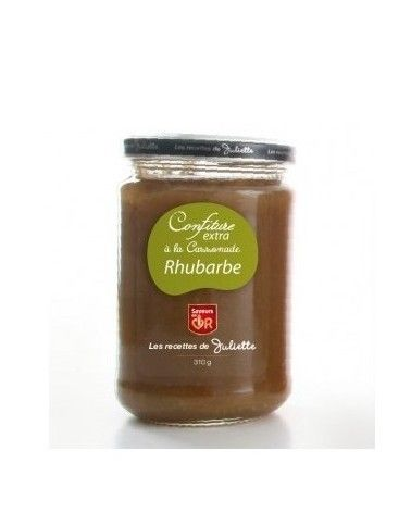 Confiture Cassonnade Rhubarbe 100g