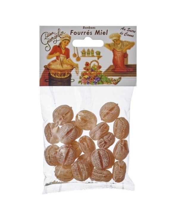 Bonbons fourrés au miel 150g
