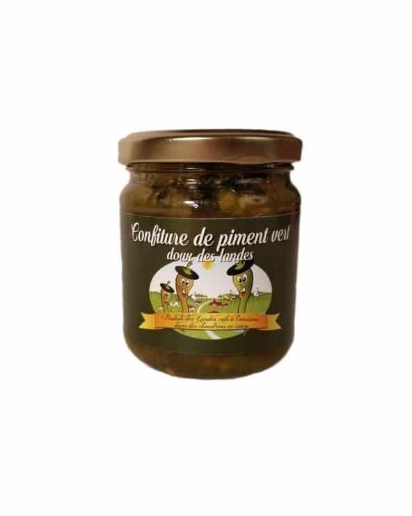 Confiture de piment vert doux des Landes