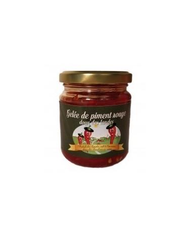 Gelée de piment rouge doux des Landes