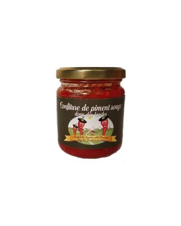 Confiture de piment rouge doux des Landes